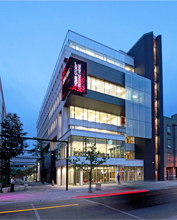 Howard W. Rundle Centre for Digital & Performance Arts - Fanshawe College