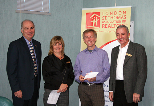 Cheque Presentation to Youth Opportunities Unlimited