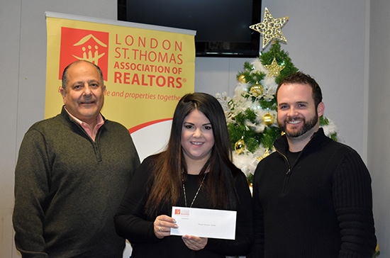 Cheque Presentation to Mission Services of London